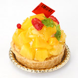 完熟フルーツのトロピカルクリームパイ