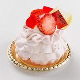 あまおう苺とバラのモンブラン